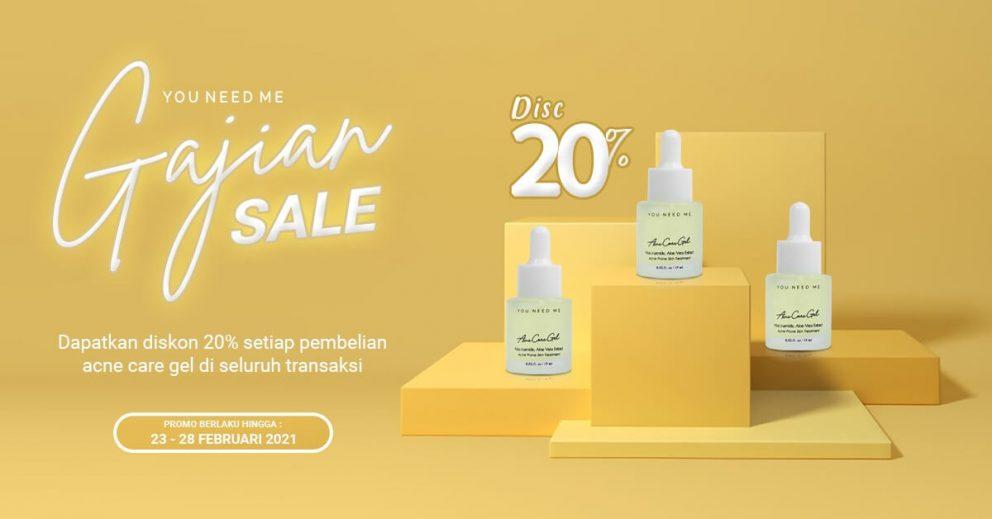 Gajian Sale! Promo Serum