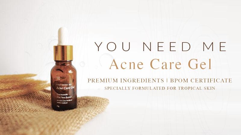 Obat Jerawat Ampuh You Need Me Acne Care Gel